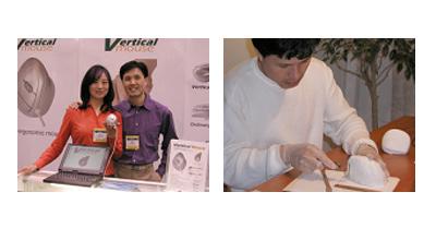 In 2001 brachten de ontwikkelaars van de verticale muis zelf hun product op de markt vanwege hun heilige geloof in de kwaliteit van Evoluent..