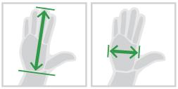Past deze Evoluent 4 wired muis bij uw handen?
